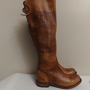 Bed Stu Cambridge Distressed Boots Size 8